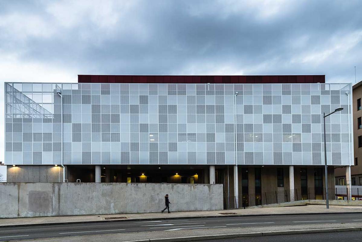 Gantois ejemplos edificio recubrimiento de fachadas - Recubrimiento de fachadas ...