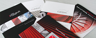 Our Gantois Industries brochures